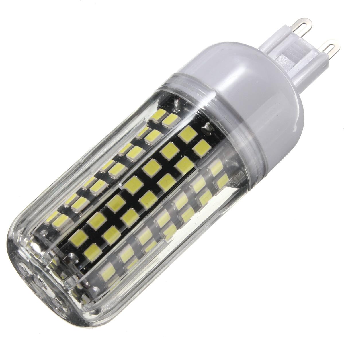 B22 E14 E27 G9 GU10 9W 112 SMD 2835 LED Cover Corn White Warm White Lamp Bulb Non-Dimmable AC220V