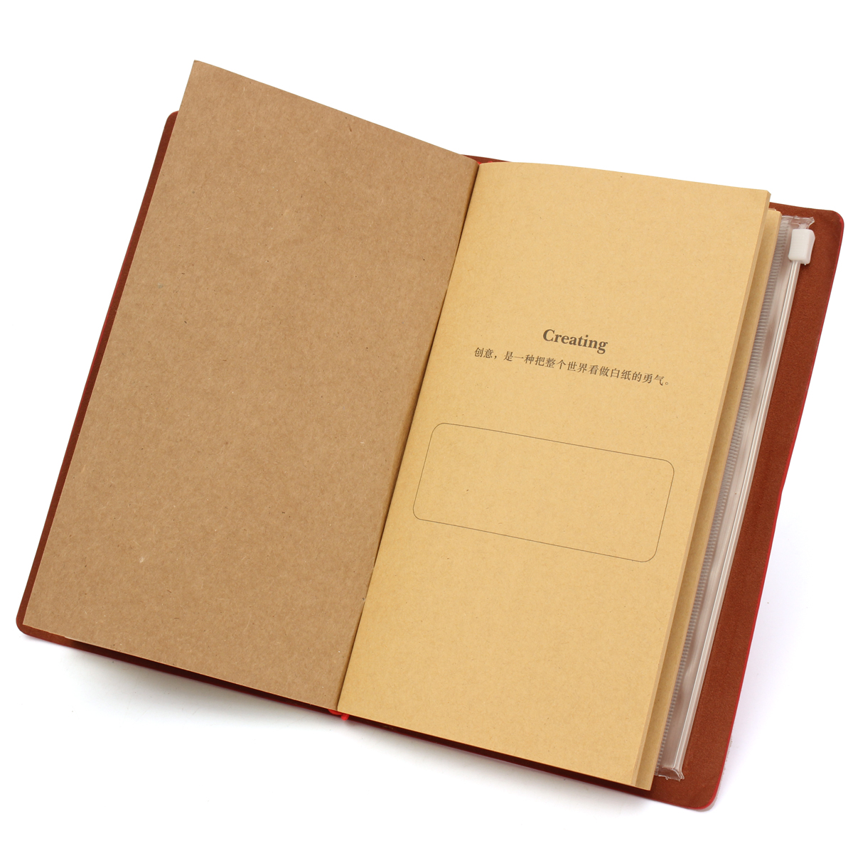 Leather Vintage Diary Travel Notebook Blank Pages Journal Paper Book Sketchbook