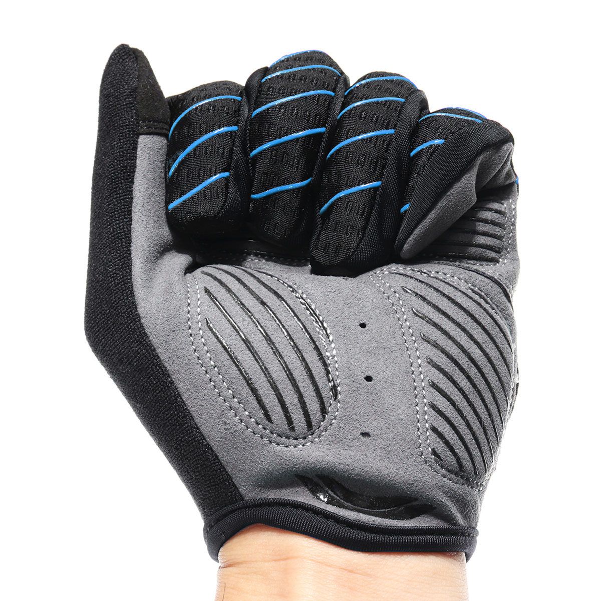CoolChange Cycling MTB Bike Full Finger Gloves Touchscreen Sun Block Anti-skid