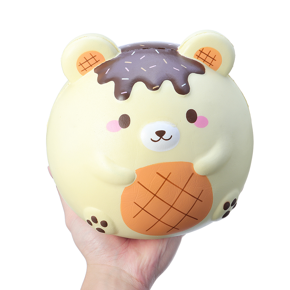 Yummiibear Fat Fat Bear Squishy Limited Humongous Giant 9.84in Licensed Slow Rising With Packaging Jumbo Toy