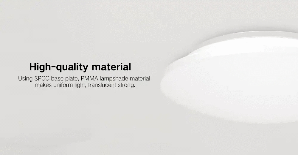 Yeelight YILAI YlXD04Yl 10W Simple Round LED Ceiling Light Mini for Home AC220-240V (Xiaomi Ecosystem Product)