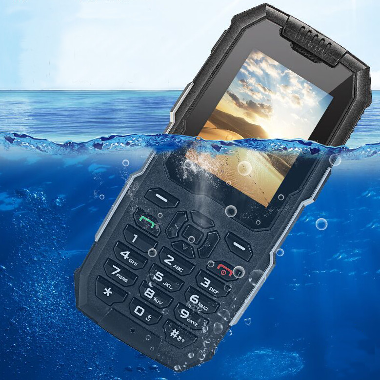 Snowpow M2 Plus LTE 4G Network WIFI  IP68 Waterproof Android 6.0 Bluetooth FM GPS Feature Phone