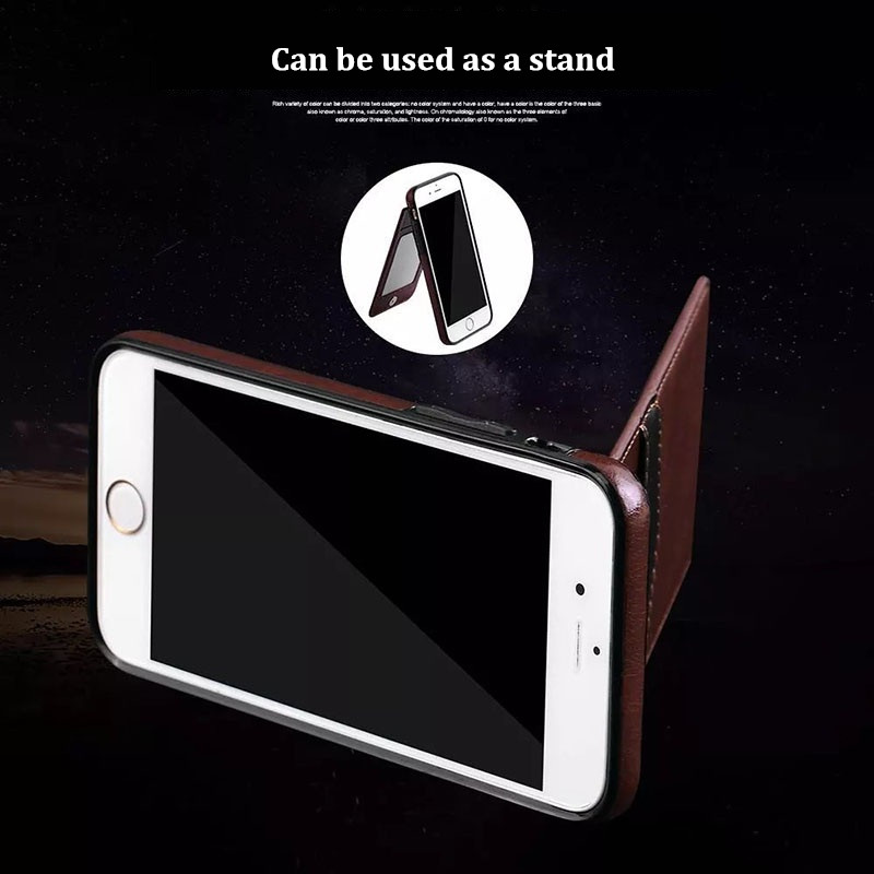 Universal Multifunction PU Leather Magnetic Buckle Phone Case Card Holder for Samsung Galaxy S7 Edge