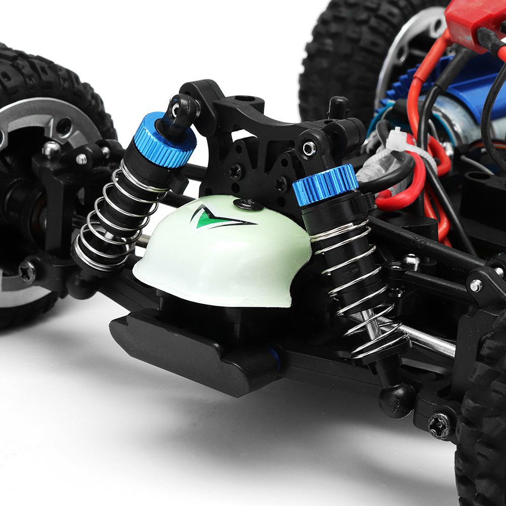 MZ GS1004 1/18 2.4G 4WD 390 Brushed Rc Car 55km/h High Speed Drift Buggy Off-road Truck RTR Toy - Photo: 9