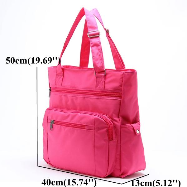 Large Capacity Travel Bag Nylon Light Weight Storage Bag Sports Outdooors Handbag