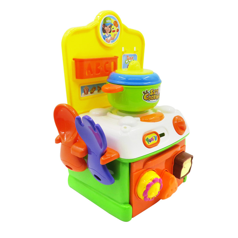 Flytec Pretend Play Toy Baby Super Cute Simulation Kitchen Breakfast Cooking Toys