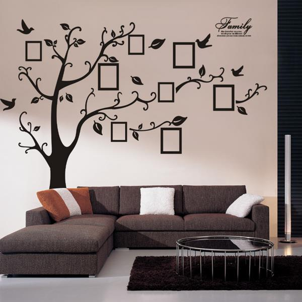memory tree photo wall sticker living room home decoration creative