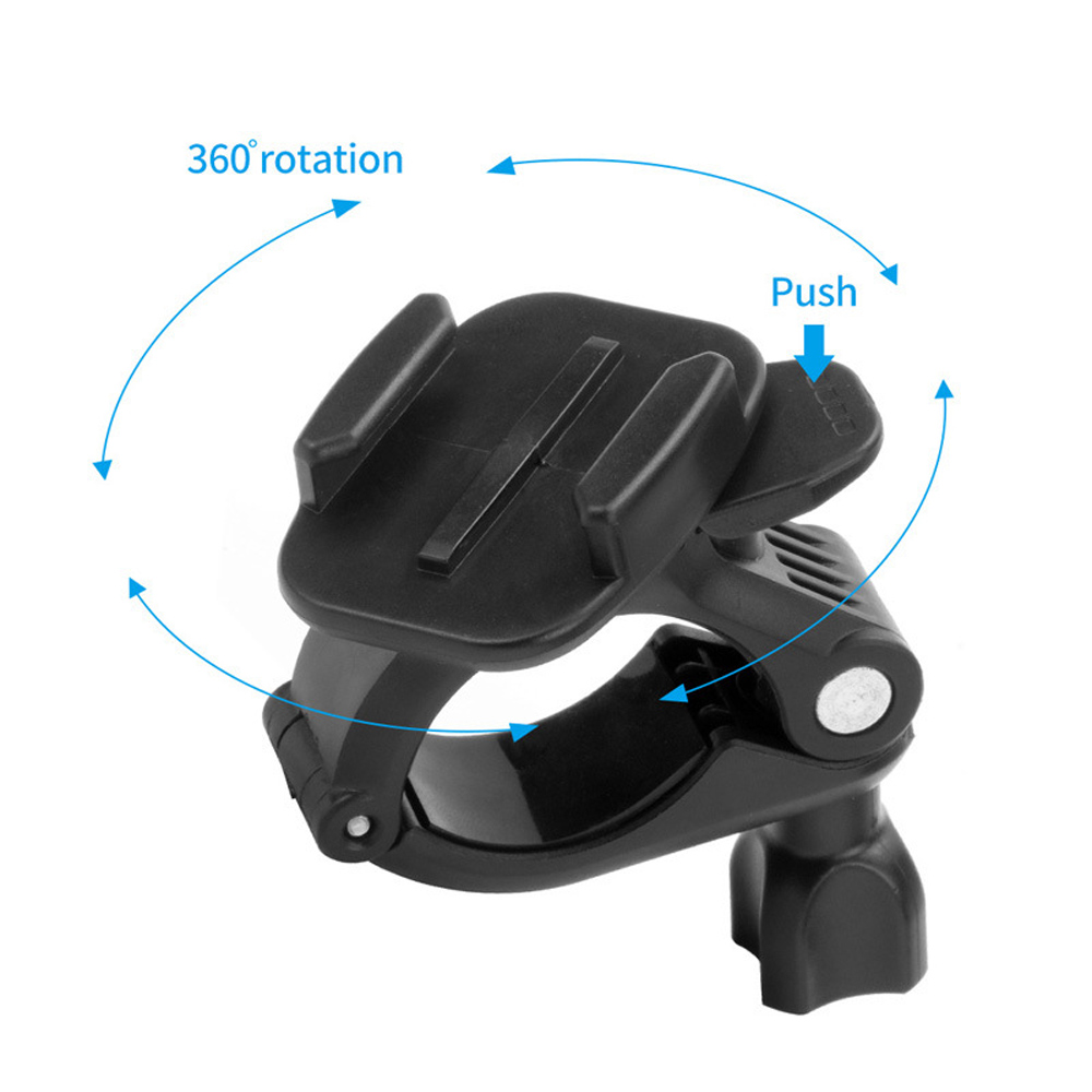 Camera Tube Mount Clamp 360 Degree Rotation for Gopro Xiaomi Yi SJCAM Action Camera