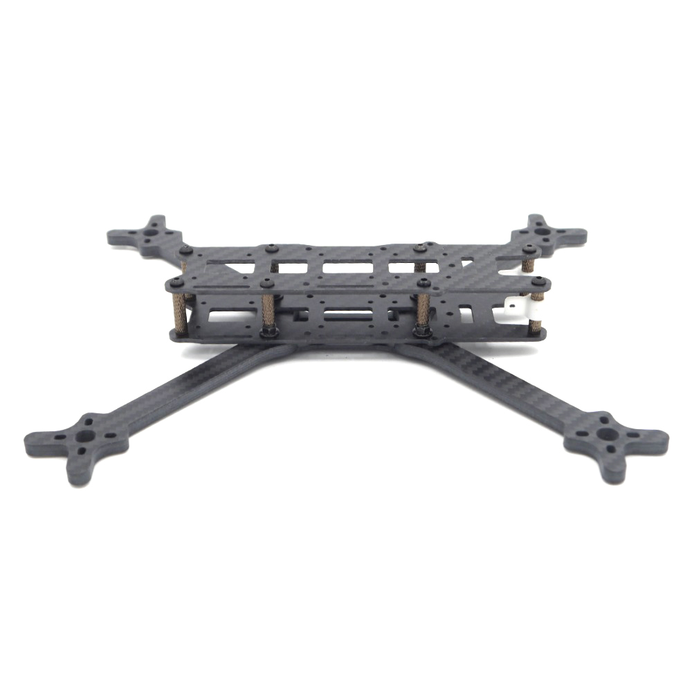 LEACO FlosStyle 245mm Wheelbase 5 Inch 5mm Arm Acro Freestyle FPV Racing Frame Kit - Photo: 4
