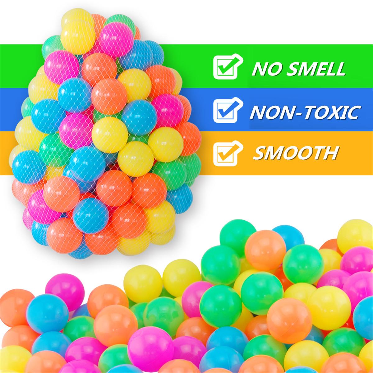 5.5/7/8cm Baby Kid Pit Toy Swim Colorful Soft Plastic Ocean Ball 50/100/200PCS Novelties Toys