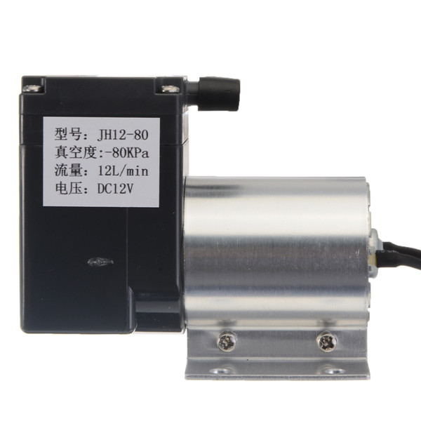 DC 12V 12L/min Vacuum Pump Negative Pressure Suction Bracket with Power Supply