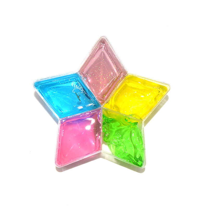 3PCS Crystal Slime Star Love Plant Mud Putty Plasticine DIY Toy Gift Stress Reliever