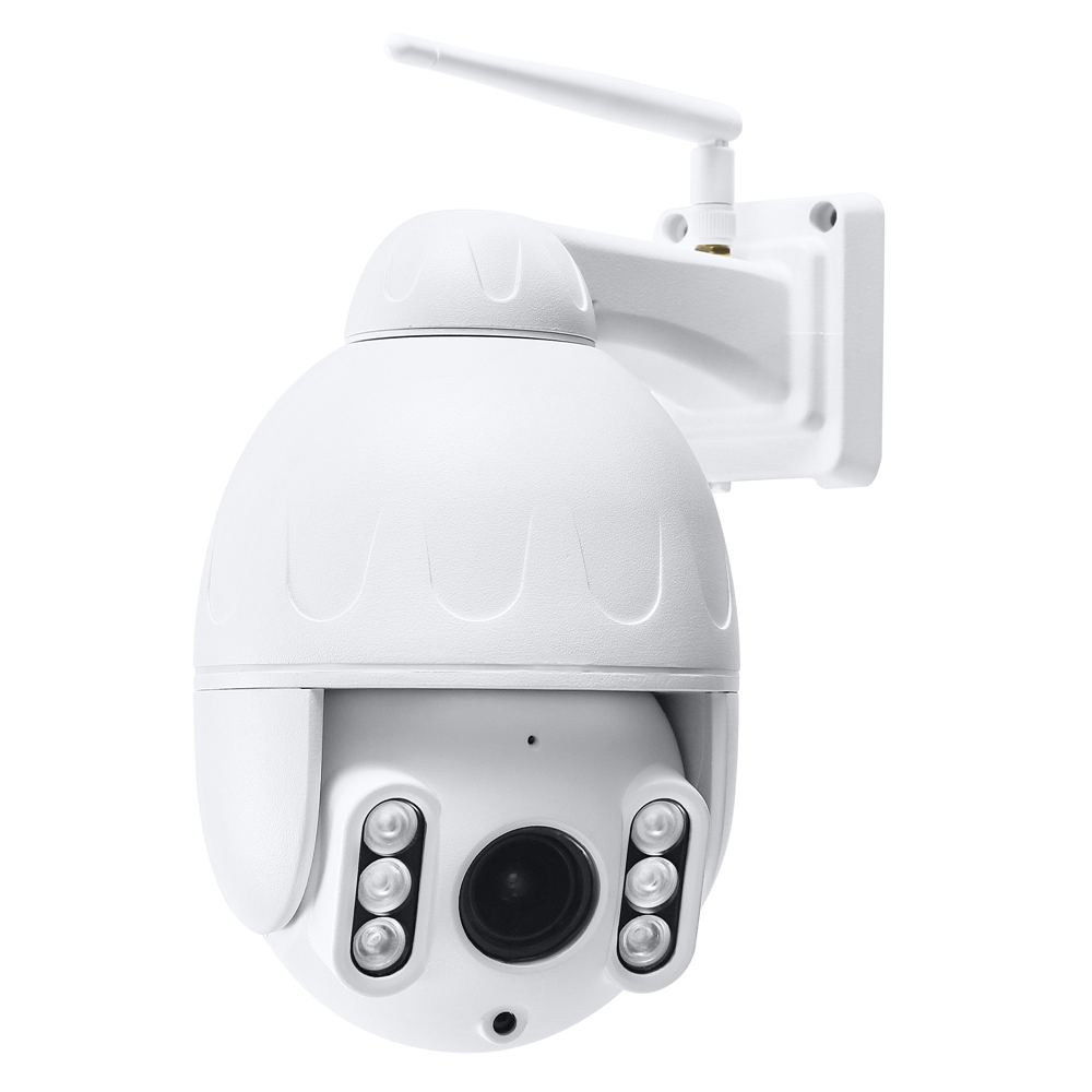 5X Optical Zoom Outdoor HD WiFi IP Camera Support AP Mode Pan Tilt P2P Night Vision Distance 40m