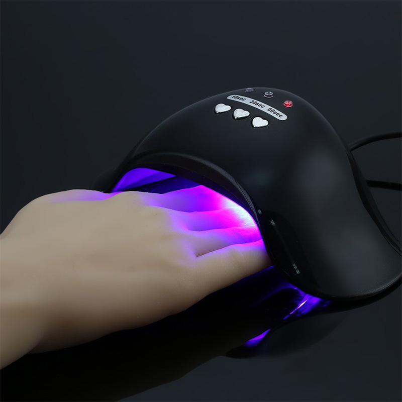 18W UV LED Lamp Nail Dryer Curing Gel Nail Polish Manicure Lamp Setting Nails Art Tools 4 Colors
