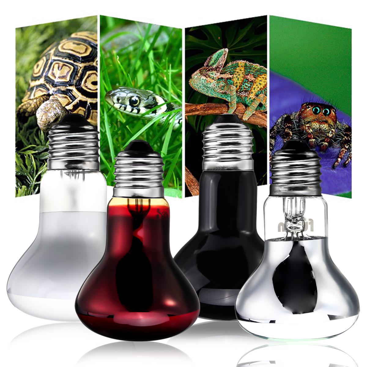 E27 R63 25W 50W 75W 100W Red Nightlight Heater Reptile Light Lamp AC220-240V