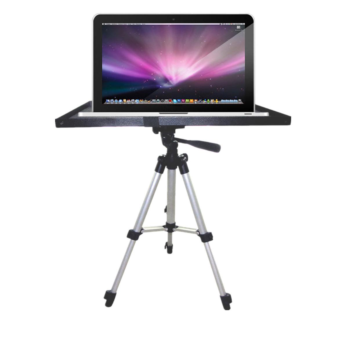 7 inch to 15 inch Metal Laptop PC Projector Tray Holder for 1/4 inch 3/8 inch Screw Tripod Stand