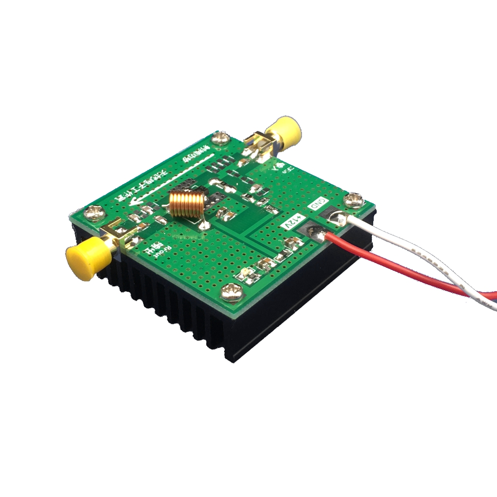 433MHz 33dBm 2W BLT53A High Gain Power Amplifier with Heat Sink For 3DR Telemetry - Photo: 2