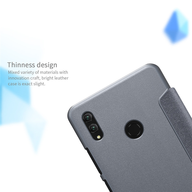 NILLKIN Shock-proof Flip PU Leather Full Body Cover Protective Case for Huawei Honor Note 10