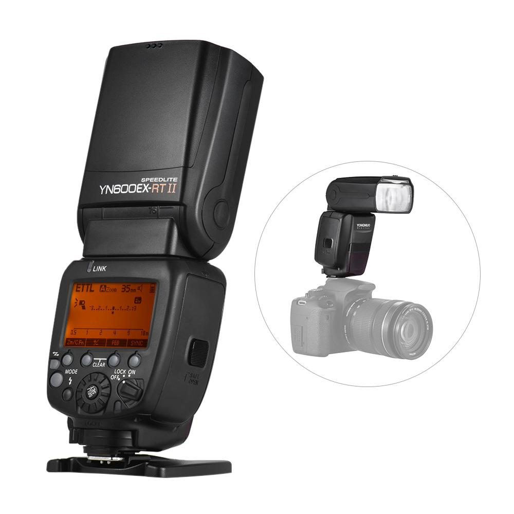 YONGNUO YN600EX-RT II 2.4G Wireless HSS Master TTL Flash Speedlite for Canon