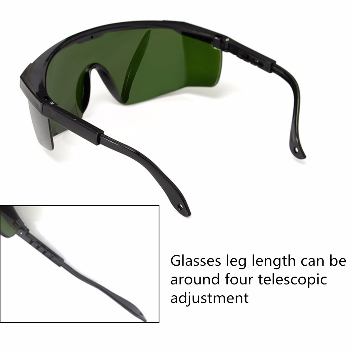 Laser Safety Goggles Glasses Protective Eyewear 200-540nm/532nm