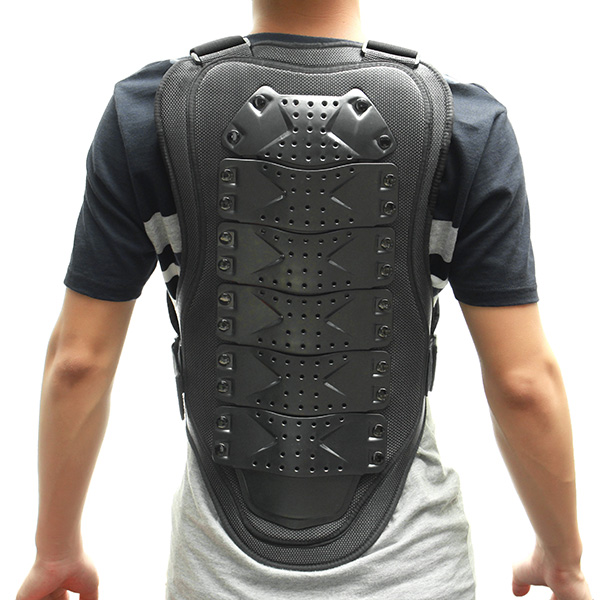 Motorcycle Protective Armor Dirt Bike Riding Gears Scooter Sport Body Vest Jacket Black