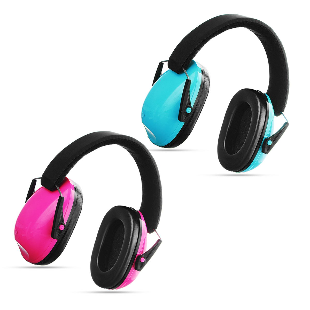 Kids Ear Muffs Hearing Protection Noise Reduction Children Ear Defenders Safety Earphone