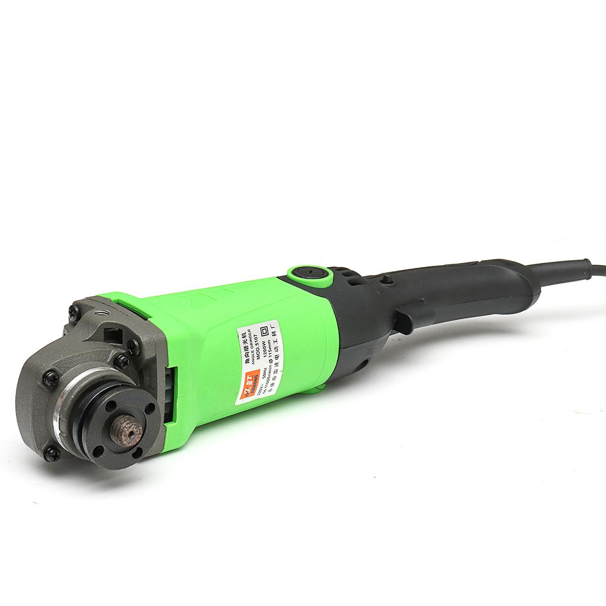 220V 1200W Multipurpose Angle Grinder 6 Levels Speed Adjustable Polishing Machine Grinding Tools