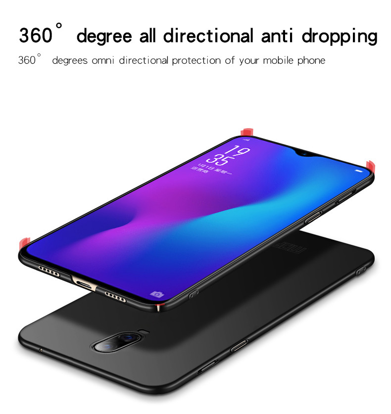 Mofi Matte Ultra Thin Shockproof Hard PC Back Cover Protective Case for OnePlus 6T