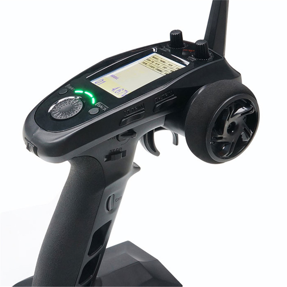 FlySky FS-GT5 2.4G 6CH Remote Controller Transmitter with FS-BS6 Receiver for RC Car Boat