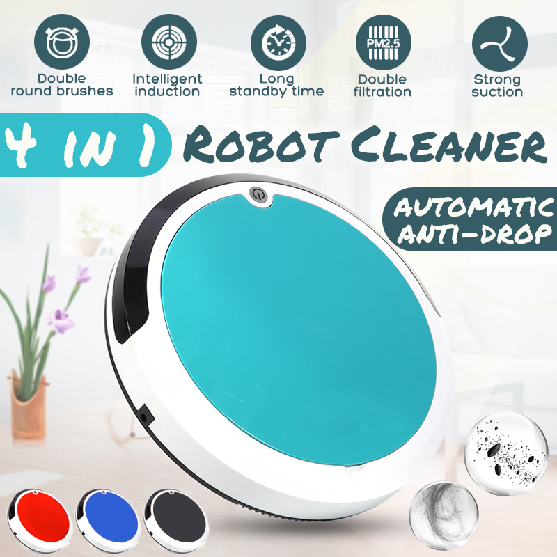 Smart Robotic Vacuum Cleaner Sweeping Robot Mini Sweeper Machine