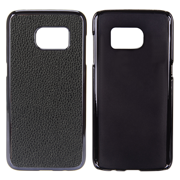 Litchi Grain PU Leather Back Cover Case For Samsung Galaxy S7 Plus