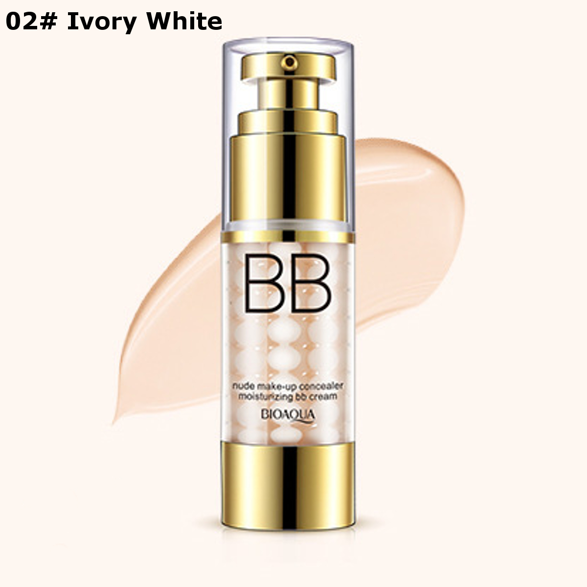 BIOAQUA Face Foundation BB Cream Concealer Beauty Makeup Primer Oil Control Moisturizing