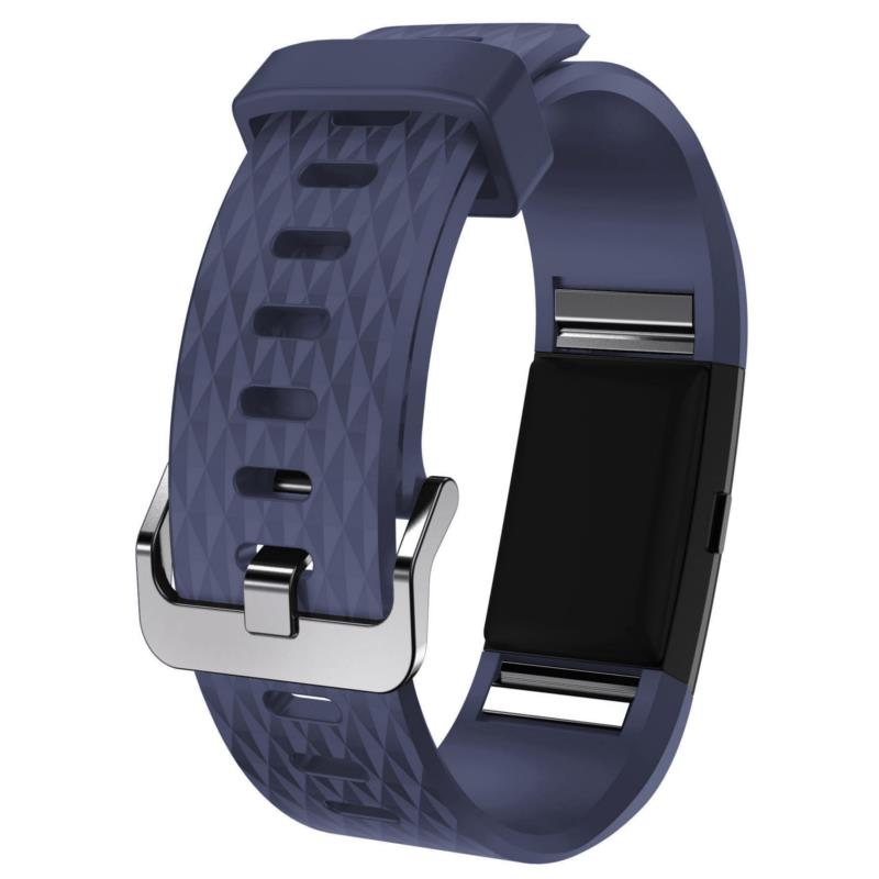Silicone Watch Band Band Strap Bracelet For Fitbit Charge 2