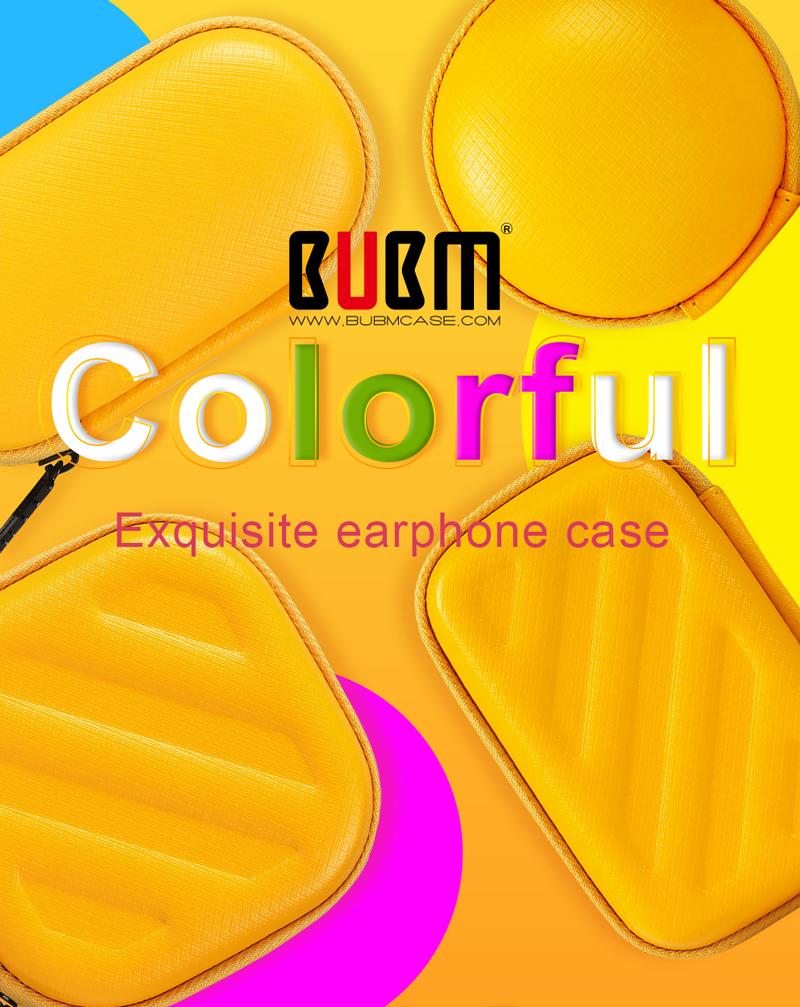 BUBM TSB-L Waterproof Dustproof Storage Bag Case for Earphone