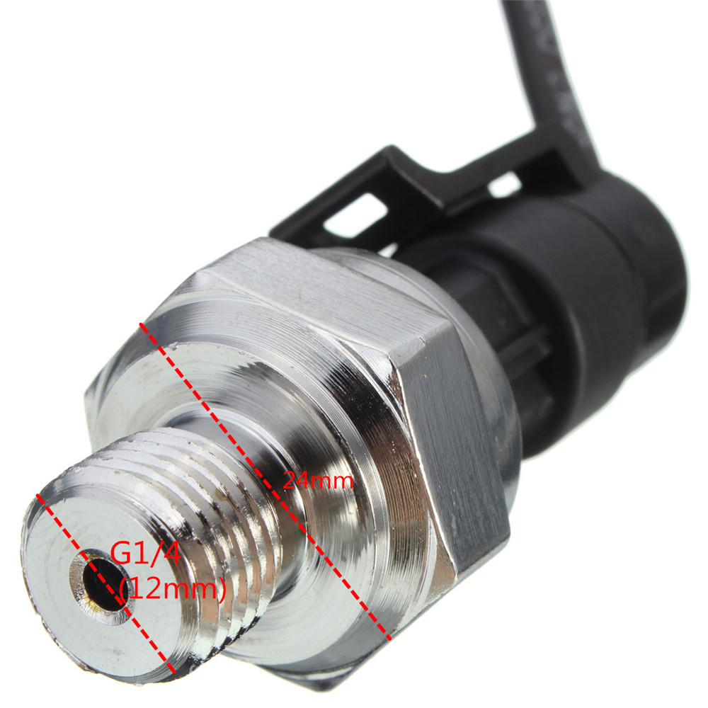 5V 0-1.2 MPa Pressure Transducer Sensor Oil Fuel Diesel Gas Water Air Sensor