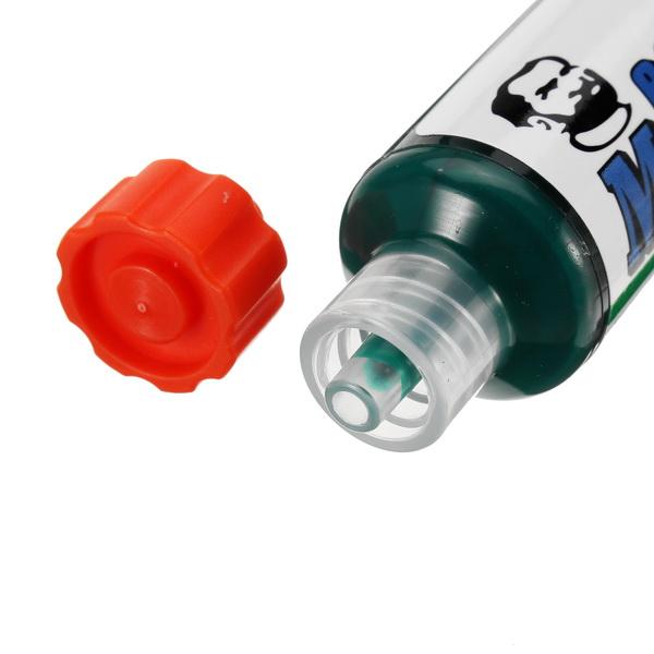 MECHANIC 10ML Green UV Solder Mask PCB BGA Paint Prevent Corrosive Arcing Soldering Paste Flux Cream Welding Fluxes Oil