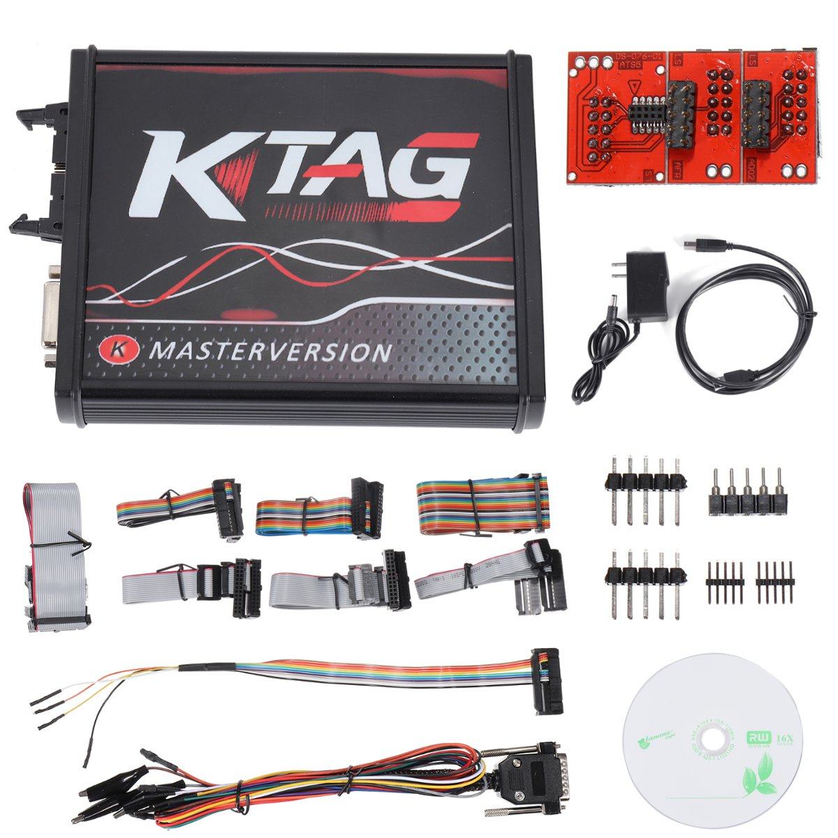 For V2.23 KTAG ECU Programming Cable Tool V7.020 PCB Online Version Unlimited Token