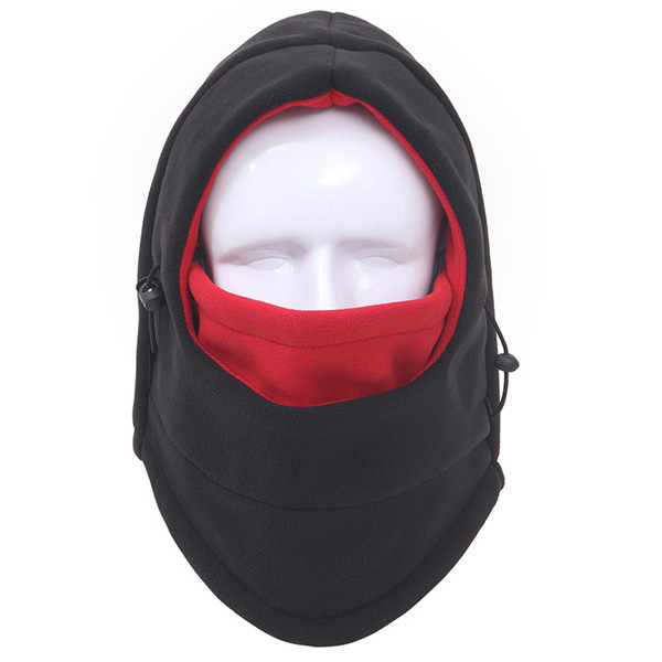 Men Women Thicker Fleece Warm Ski Cap Winter Outdoor Windproof Mask Head Scarves