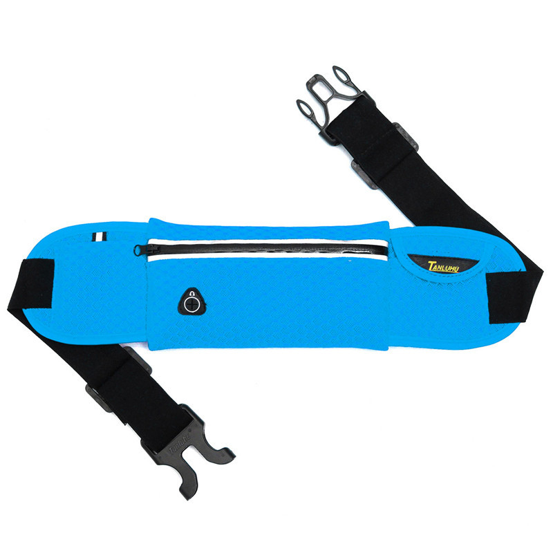 Sports Hiking Running Jogging Cycling Waist Belt Bag Pocket Mesh Pack Pouch For iPhone 6/6S Plus 6/6