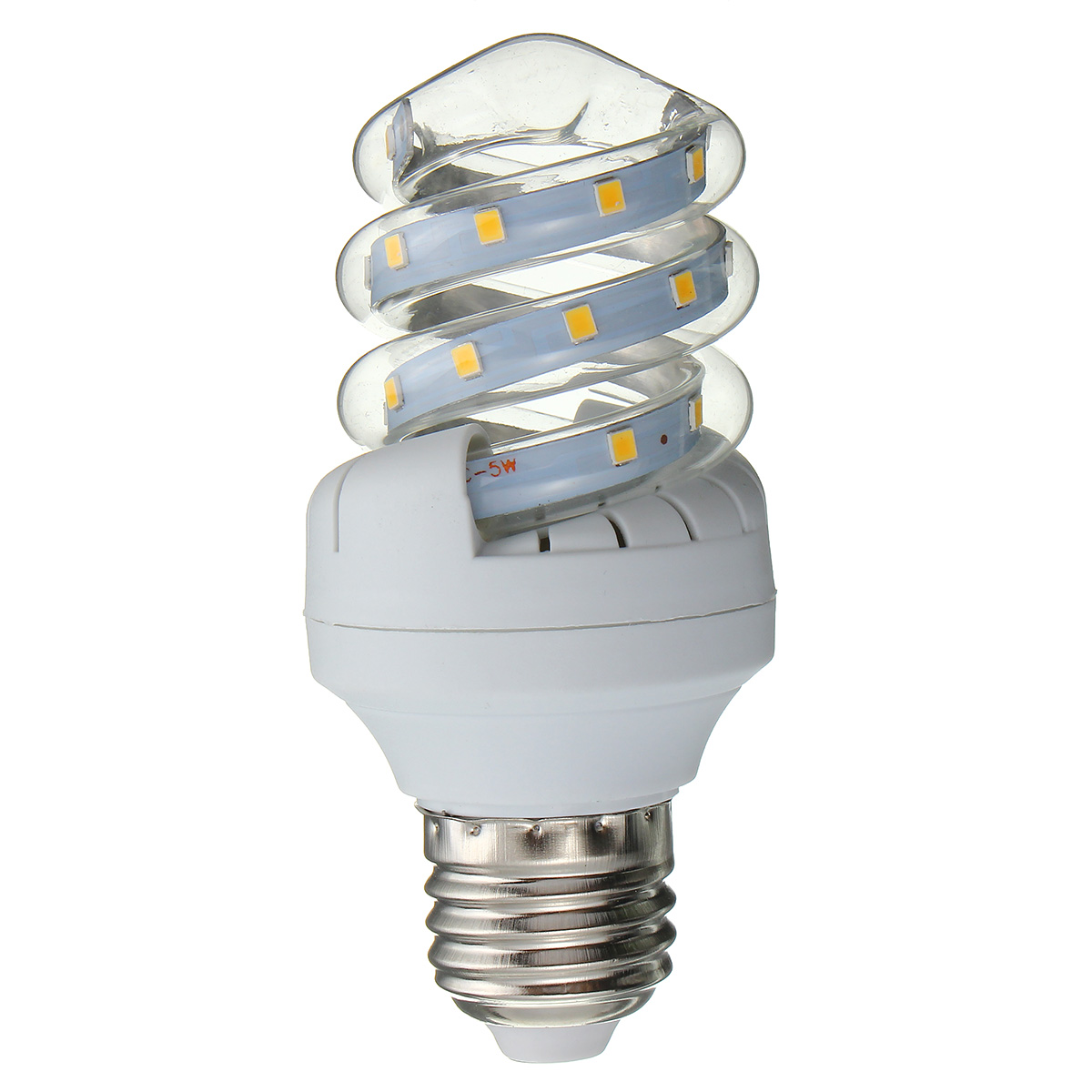 Spiral Style E27 5W-30W LED Ultra Bright Energy Saving Warm White Light Bulb AC86-245V