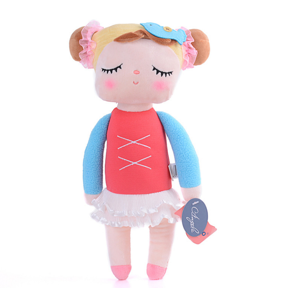 Metoo 13inch Angela Lace Dress Rabbit Stuffed Doll Toy For Children