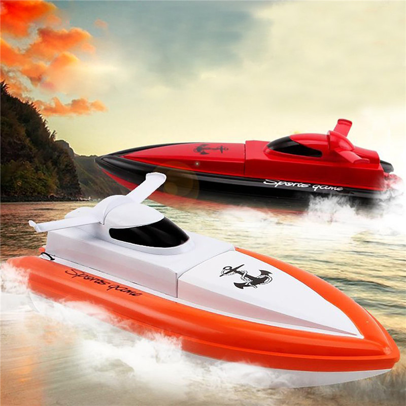 HY800 2.4G 4CH Mini High Speed Radio Control RC Racing Boat Waterproof Electric Model Gift Toys