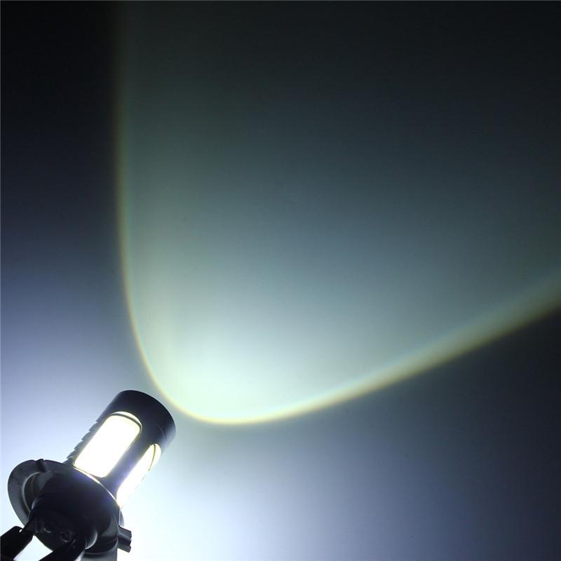 Cool White H7 LED Bulb For Hyundai Genesis Sonata Daytime Running Light