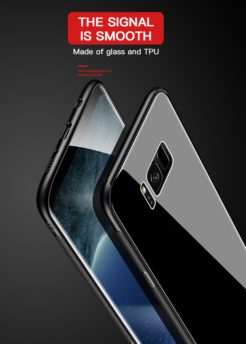 Bakeey Scratch Resistant Tempered Glass Protective Case For Samsung Galaxy Note 8/S8/S8 Plus