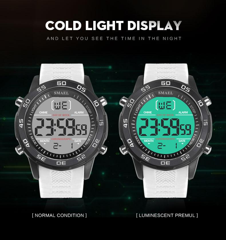 SMAEL 1067 Sport Waterproof Outdoor Men Digital Watch