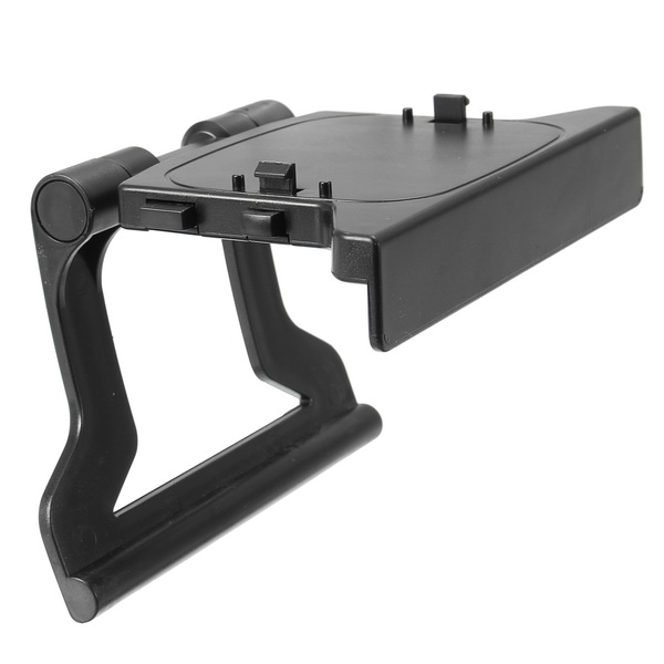TV Clip Clamp Mount Stand Holder for Microsoft Xbox 360 Kinect Sensor