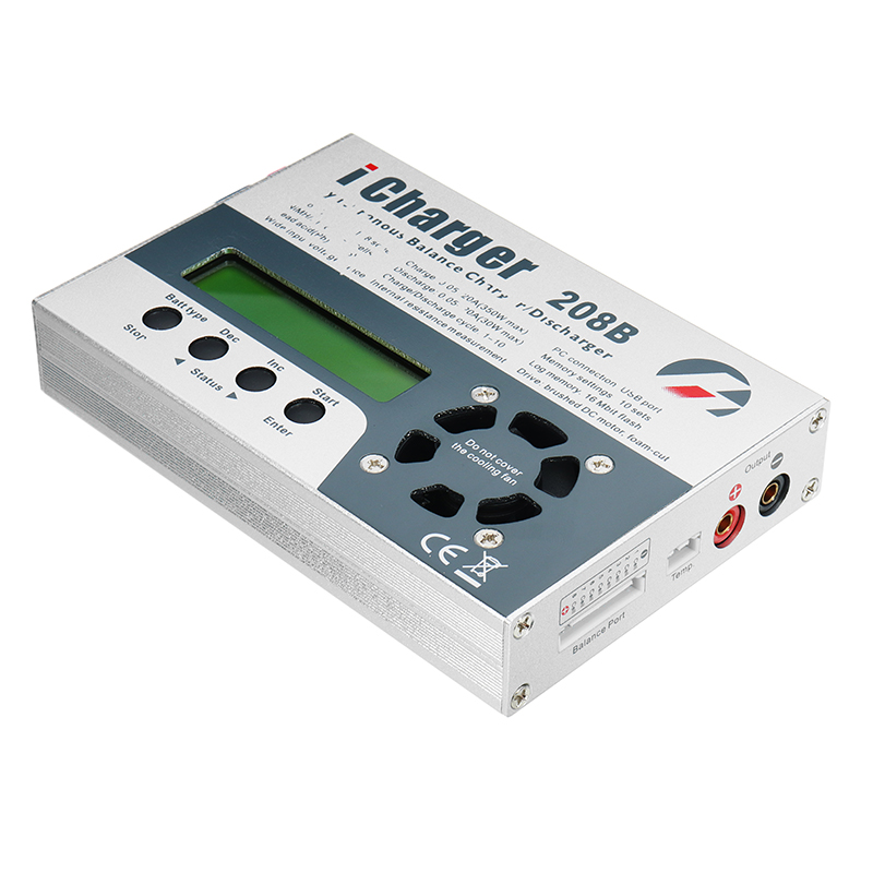 iCharger 208B 350W 20A 1-8S DC Lipo Battery Balance Charger