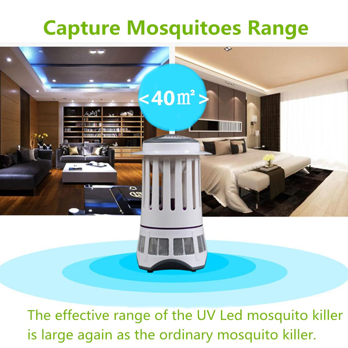 4W LED Light Sense Bug Zapper Mosquito Killer Lamp Electronic Insect Killer Lamp Insect Control