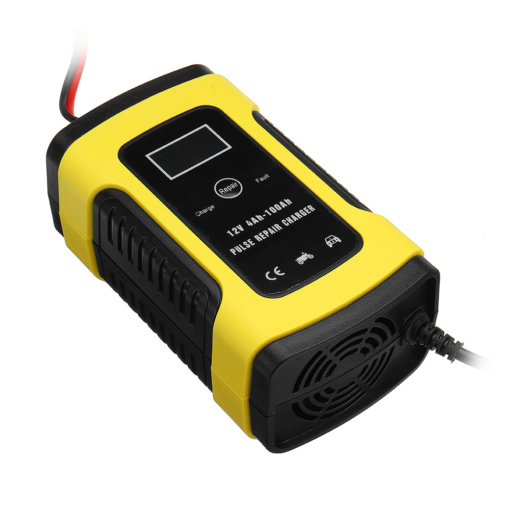 Imars 12v 6a pulse repair lcd batteria caricabatterie for Caricabatterie auto moto lidl
