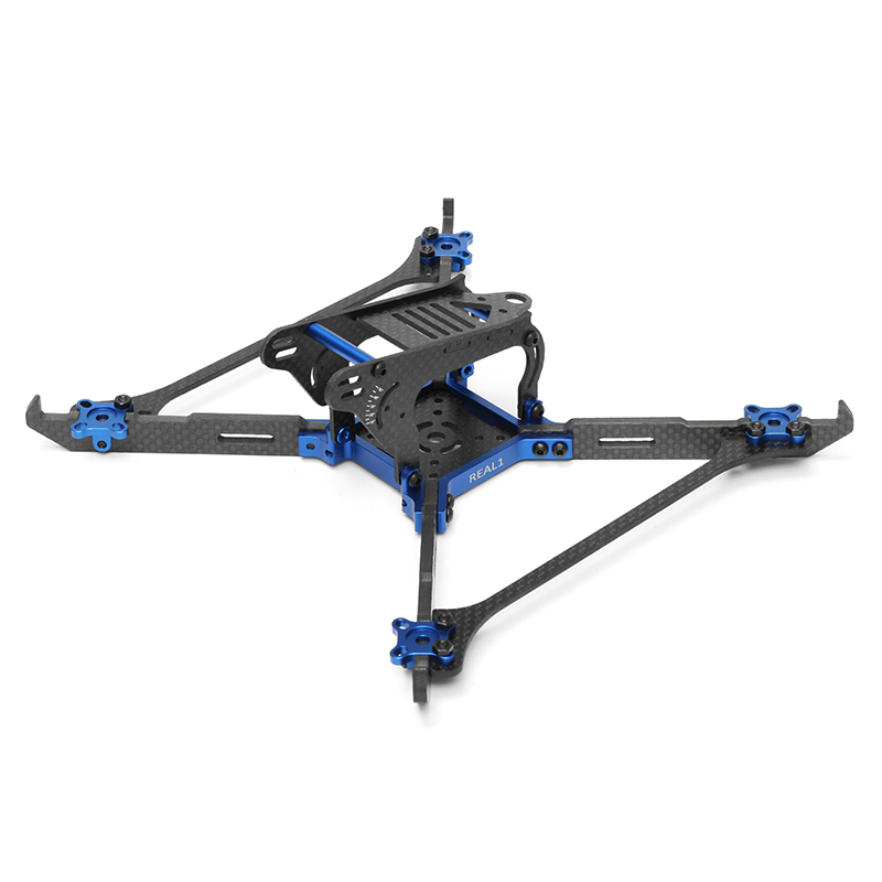 Realacc Real1 220mm 5 Inch 4mm Vertical Arm Carbon Fiber Frame for RC Drone